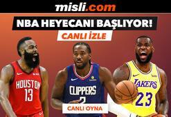 NBA geri dönüyor