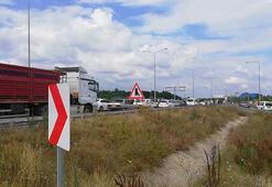 Karadeniz Sahil Yolu, zincirleme kaza nedeniyle ulaşıma kapandı