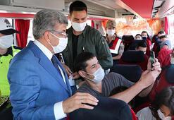 Van Valisi, uygulamada trafik kazaları ve virüse karşı uyardı