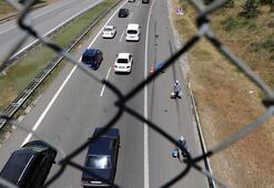 Bolu Dağında Ankara yönünde trafik yoğunluğu yaşanıyor