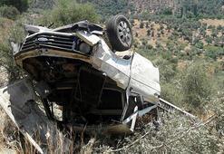 Muğlada kamyonet şarampole devrildi: 2si çocuk 5 yaralı