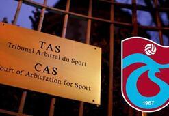 Son dakika | CAS, Trabzonsporun itirazını reddettiğini açıkladı