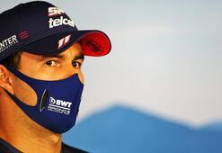 F1 pilotu Perezin koronavirüs testi pozitif çıktı