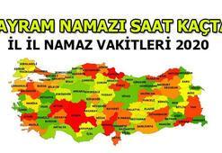 Bayram namazı kaçta kılınacak - İstanbul, Ankara, İzmir, Antalya, Bursa kurban bayramı namazı saatleri