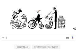 Google'dan Turhan Selçuk 'doodle'ı