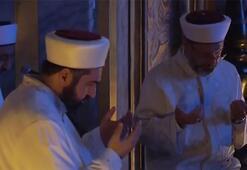 Ayasofyada Kurban Bayramı sabahı Tarihi anlar