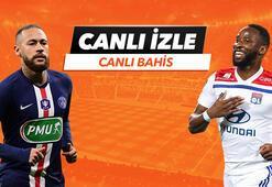 PSG - Lyon maçı canlı bahis heyecanı Misli.comda