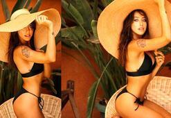 Zeynep Alkandan bikinili poz