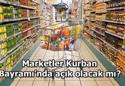 Bayramın 1. ve 2. günü marketler açık olacak mı Kurban Bayramında A101, ŞOK, BİM marketler çalışıyor mu