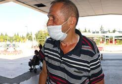 Samsunda yaralanan kasap, kendisinin ilk vaka olup olmadığını sordu