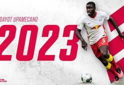 Leipzig, Dayot Upamecanonun sözleşmesini 3 yıl daha uzattı...