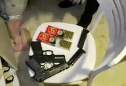Ataşehirde uyuşturucu ve silah ticareti yapan şüpheli yakalandı