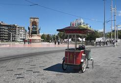 Taksim Meydanı sakin bir bayram geçiriyor