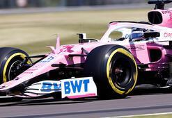 F1 Büyük Britanya Grand Prixsinde Perezin yerine Hulkenberg yarışacak