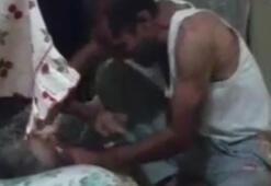 Elazığda yatalak anneye işkence kamerada