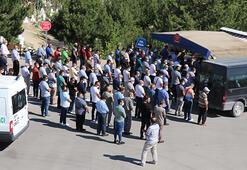 Sivasta öldürülen aynı aileden 4 kişinin cenazeleri toprağa verildi