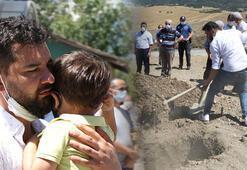 Boğularak hayatını kaybeden polis memuru toprağa verildi