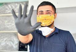 Şiddete karşı turuncu maske