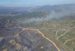 Bakan Pakdemirli açıkladı: İzmir ve Manisadaki yangınlar kısmen kontrol altına alındı