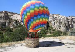 Kapadokyada sanal balon turu