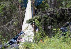 ABDde iki küçük uçak havada çarpıştı