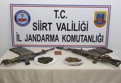 Siirtte 2 teröristin etkisiz hale getirildiği bölgede silah ve mühimmat ele geçirildi