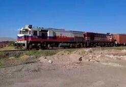 Çinden yola çıkan 1056 metrelik blok tren Türkiyeye ulaştı