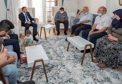 Vali Yerlikaya, şehit polis Göktekenin ailesini ziyaret etti