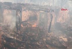 Manisadaki orman yangını devam ediyor