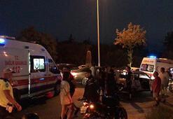 Kuşadasında trafik kazası: 1i çocuk 4 yaralı