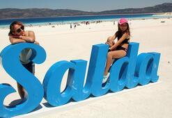 Salda Gölüne büyük ilgi