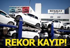 Renaultnun kaybı rekor düzeyde
