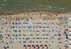 İstanbullular bayramda plajlara akın etti