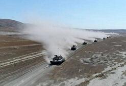 Türkiye ve Azerbaycanın geniş kapsamlı ortak askeri tatbikatı sürüyor