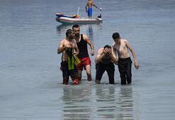 Salda Gölüne giren çocuk boğuldu