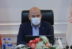 İçişleri Bakanı Soylu, Afrindeki güvenlik görevlilerinin bayramını kutladı