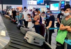 İstanbul Havalimanında bayram tatili dönüş hareketliliği