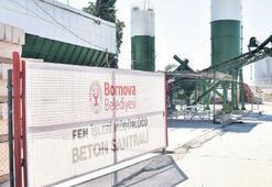 Bornova Belediyesi betonunu üretiyor