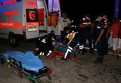 Manisada trafik kazası: 2si ağır 5 yaralı
