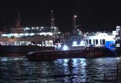 Marmara Denizinde sıcak saatler Yüzlerce yolcu mahsur kaldı