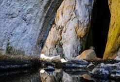 Bu mağaranın giriş yeri Eskişehir, çıkış yeri Bolu