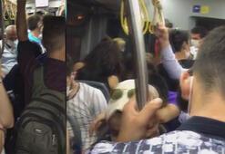 İETT otobüsünde sosyal mesafe kalmadı