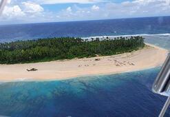 Kayıp denizciler kumsala yazdıkalrı yazıyla bulundular