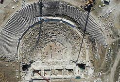 Antik tiyatro 1600 yıl sonra seyirciyle buluşacak