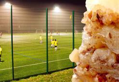 Halı saha maçı sonrası sakın baklava yemeyin Sebebi...