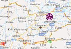 Son dakika Malatyada peş peşe korkutan depremler