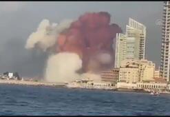 Beyrut Limanı yakınlarında büyük bir patlama meydana geldi