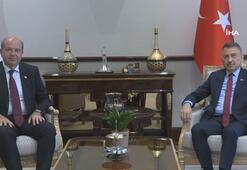 Cumhurbaşkanı Yardımcısı Oktay KKTC Başbakanı Tatar ile görüştü