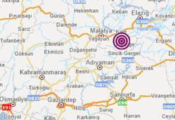 Pütürgede 4,8 büyüklüğünde deprem