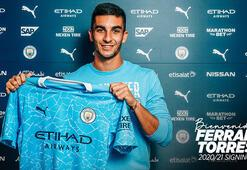Manchester City, Ferran Torresi transfer etti